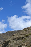 Tibet himmel Royaltyfri Foto