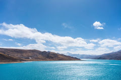 Tibet holy lake Stock Images