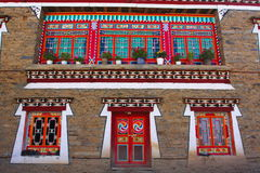 Tibet house. The tibet house is national royalty free stock images