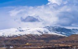 Tibet i den tidiga våren Royaltyfri Fotografi