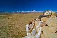 Tibet krajobrazu Obrazy Stock