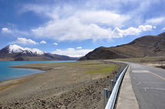 Tibet lake Royalty Free Stock Image