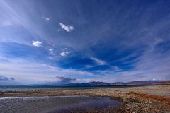 Tibet Lake Manasarovar Royalty Free Stock Images