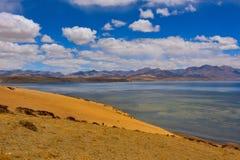 Tibet Lake Manasarovar Stock Images