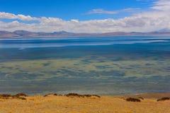Tibet Lake Manasarovar royalty free stock photography