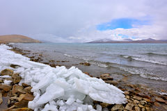 Tibet Lake Phumayumtso Stock Image