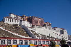Tibet landmark Royalty Free Stock Image