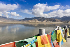 Tibet landscape Stock Images