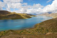 Tibet landscape Royalty Free Stock Photos