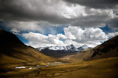 TIBET LANDSCAPE Royalty Free Stock Image