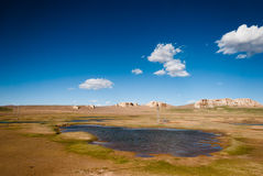 Tibet Landscape Stock Photography