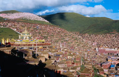 Tibet landscapes Royalty Free Stock Images