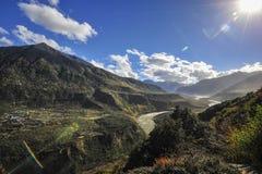 Tibet-Landschaft Stockbilder