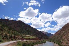 Tibet-Landschaft Lizenzfreie Stockbilder