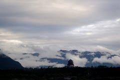 Tibet-Landschaft Lizenzfreies Stockfoto