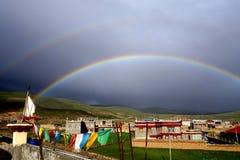 Tibet-Landschaft Lizenzfreies Stockbild