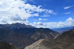 Tibet-Landschaft Lizenzfreie Stockfotos
