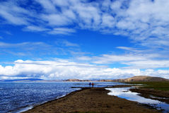 Tibet-Landschaft stock abbildung