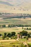 Tibet-Landschaften Stockbild