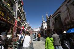 Tibet Lhasa barkhor Fotografering för Bildbyråer
