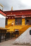 Tibet, Lhasa, China, June, 02, 2018.  Nangze Shak Display Hall house of a noble family with 600 years of history on Barkor stree. Tibet, Lhasa, China.  Nangze royalty free stock image