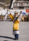 Tibet - Lhasa - Chinese Buddhist Royalty Free Stock Photography