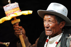 Tibet Man Royalty Free Stock Photography