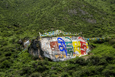 Tibet Medog County Chinese scenery. Here is Tibet Medog County China scenery Stock Image