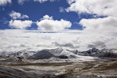 Tibet: Milha mountain pass Royalty Free Stock Image