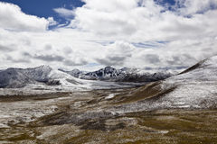 Tibet: Milha mountain pass Stock Photos
