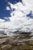 Tibet: Milha mountain pass Stock Photo