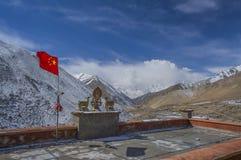 Tibet Monastery. Beautiful view from Tibet monastery Stock Image