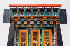 Tibet monastery Window Stock Photos