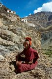 Tibet Monk Stock Images