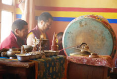 Tibet Monk Royalty Free Stock Images