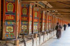 Tibet Monk  temple Stock Photos