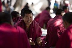 Tibet monks, Lhasa Royalty Free Stock Photography