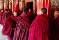 Tibet Monks Stock Photo