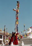 Tibet Monks Royalty Free Stock Images
