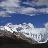 Tibet: montagem everest Foto de Stock Royalty Free