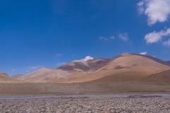 Tibet mountain landscape Stock Photography