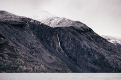 Tibet Mountain's Gray Scale Photo Royalty Free Stock Photography