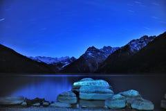 Tibet - Nacht XINLUHAI Stock Foto's