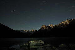 Tibet - Nacht XINLUHAI Royalty-vrije Stock Foto