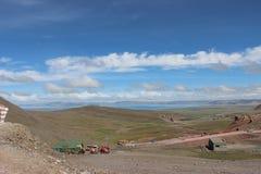 Tibet Nam Co Arkivfoton