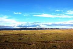 Tibet NAMUCUO sjöar Arkivfoto