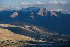 Tibet Ngari Burang scenery Stock Photo