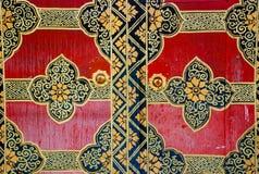 Tibet - Old monastery door Royalty Free Stock Image