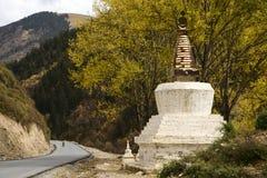 Tibet Pagoda Stock Images