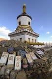 Tibet Pagoda Royalty Free Stock Photo